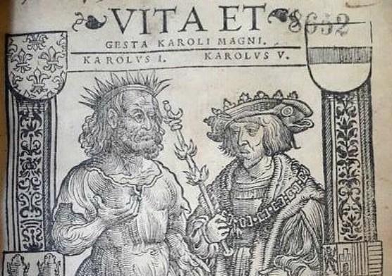 Charlemagne et Charles Quint, Bibliothèque municipale de Toulouse, Res. C.XVI 137