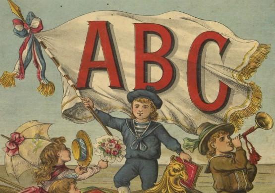 A. B. C. indéchirable sur toile vernie, A. Capendu, 1890
