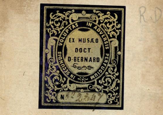 Ex-libris Res. D XVII 297