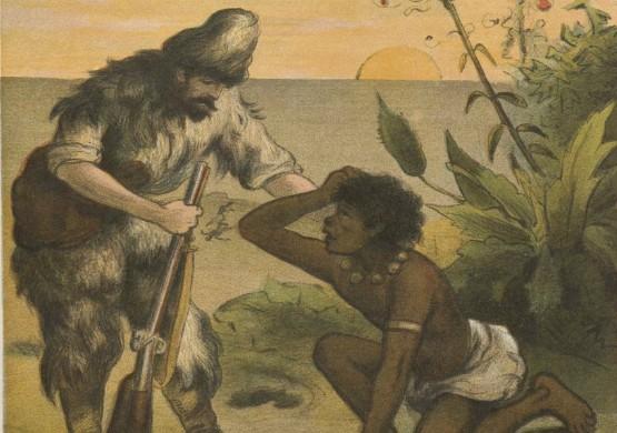 Robinson Crusoé, Emile Sillag, Capendu, 19è siècle
