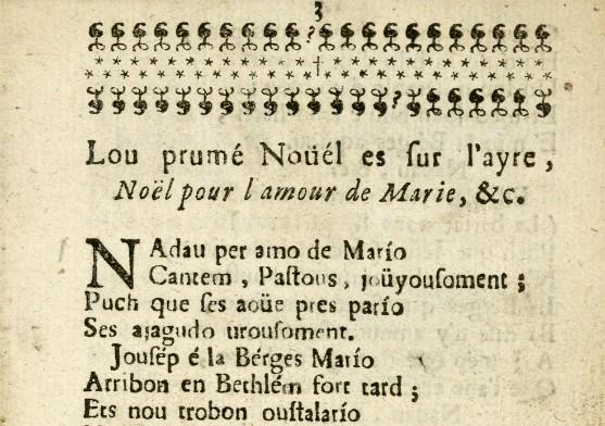 Lou Trimfe des Noüéls gascous, per J. G. Dastros, Res. D XVIII 653 (5)