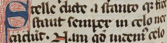 Première page des Etymologiarum libri viginti, plus connus sous le nom d'Etymologiae