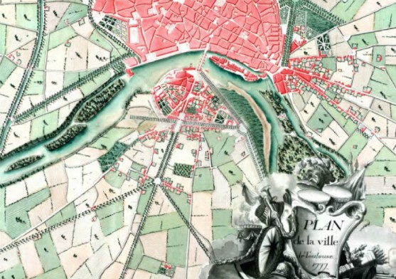 Plan de Toulouse de 1777, Ms 1169