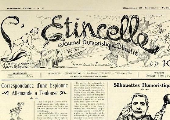 L'Etincelle, 21 novembre 1915