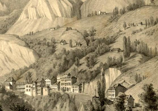 Edouard Paris, Thermes de Saint-Sauveur, Hautes-Pyrénées A-PARIS (1-26)