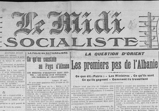 Le Midi socialiste, 29 mai 1913
